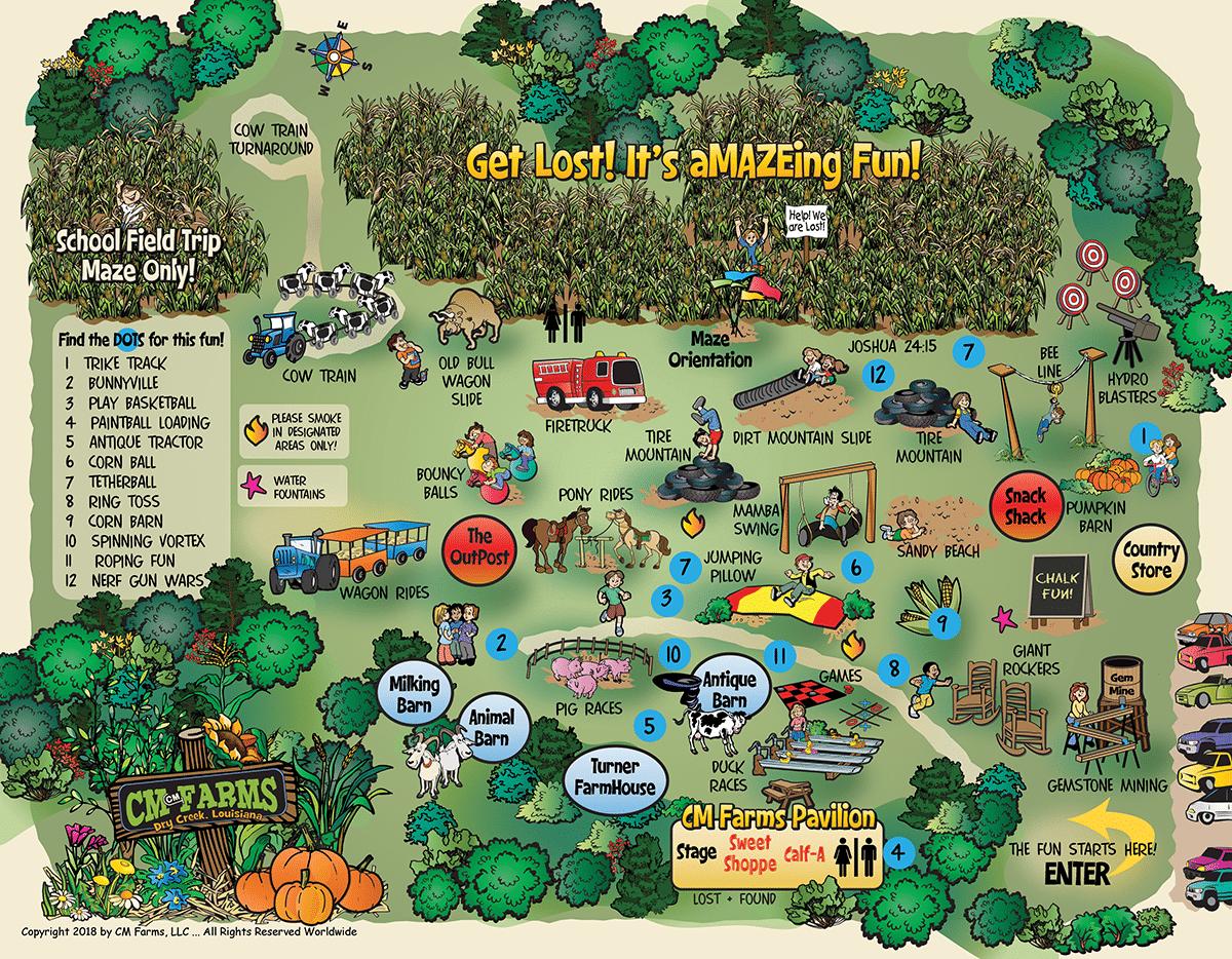 farm map 2018